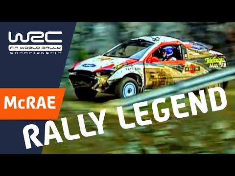 Vídeo momentos locos historia WRC, con el coche para desguace by Colin McRae