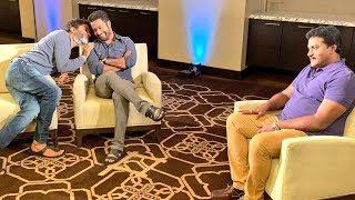 Video Sunil Funny Interview With NTR & Trivikram on Aravinda Sametha | Manastars MP3, 3GP, MP4, WEBM, AVI, FLV Desember 2018