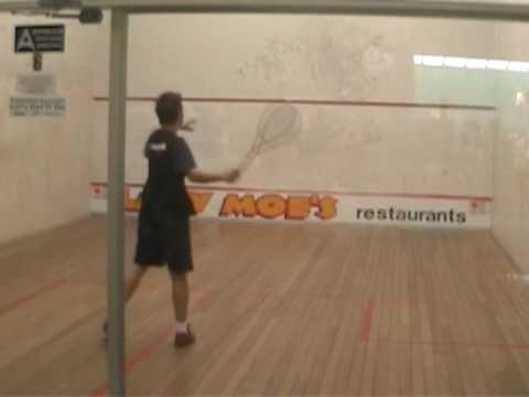 Squash Training/Drills & a few games