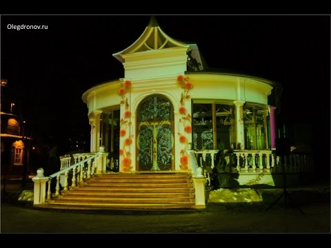 3D mapping.YAR Hotel. Building Mapping.2015.