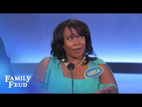 WATCH: Worst Family Feud Contestant Ever??