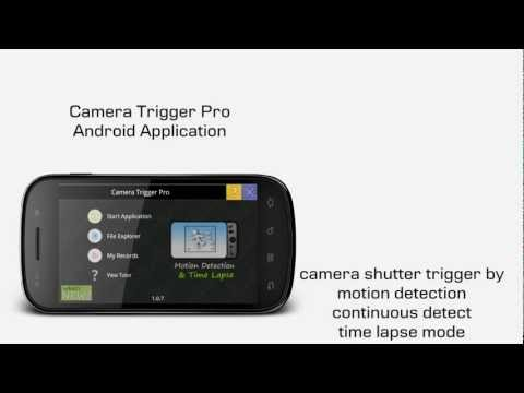 Video of Camera Trigger (Motion Detect)