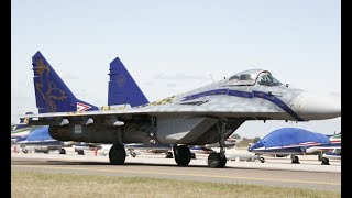 LAST DISPLAY HUNGARIAN MiG-29A FULCRUM - SPECIAL LIVERY 70 YEARS HUNAF