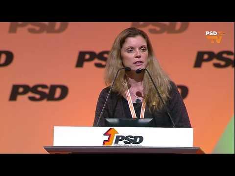 37º Congresso PSD - Intervenção de Carlota Pina