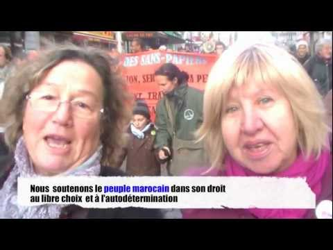 Messages de soutien au Mouvement du 20 février - Paris - Ile-de-France