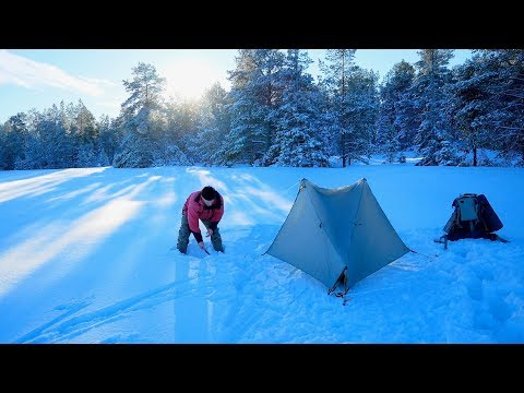 Three Days Winter Camping with Tarptent Notch