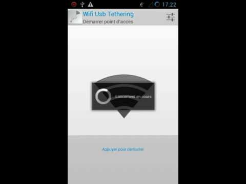 Video of Wifi Usb Tethering trial