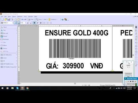 Ket noi SQL và ZebraDesigner Pro