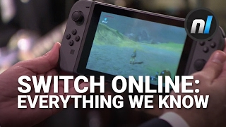 The Nintendo Switch is going to have a load of online stuff, so much in fact that Nintendo is asking us to pay for it. But what do we actually know? Alex has...