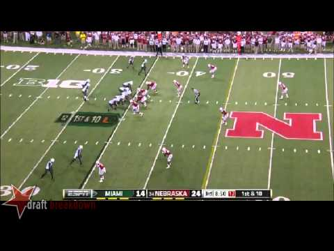 Randy Gregory vs Miami 2014 video.