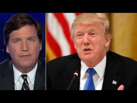 Tucker Trump White House has lost control of its fate