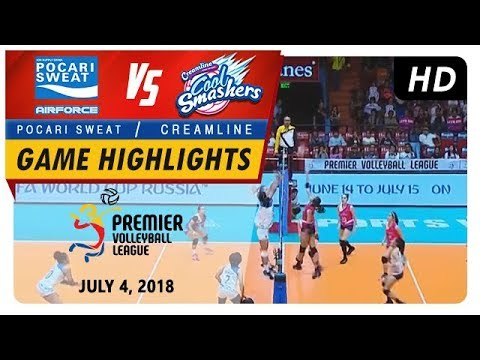 PVL RC Season 2 - WD: Air Force Lady Warriors vs. Cool Smashers | Game Highlights | July 4, 2018