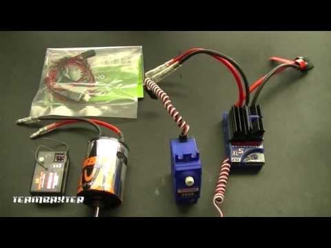 Axial SCX10 Waterproof Electronics Setup