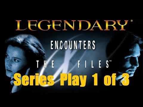 Legendary X-Files Series Play Seasons 1-3 Intro & Episode 1