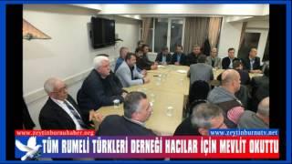 Zeytinburnu Tüm Rumeli Türkleri Derneği Hacılar İçin Mevlit Okuttu