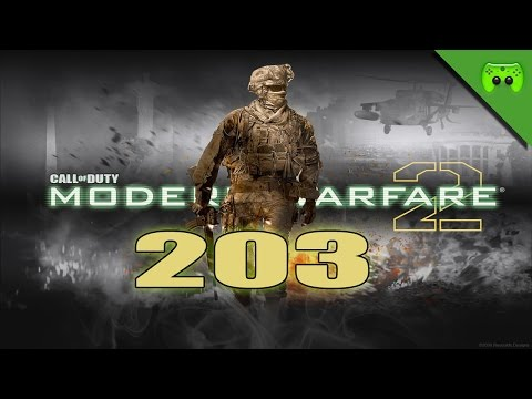 MODERN WARFARE 2 # 203 - Overgrown Battle «»  Let's Play Modern Warfare 2 | HD