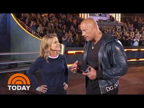 Dwayne Johnson Takes TODAY Inside 'The Titan Games' | TODAY