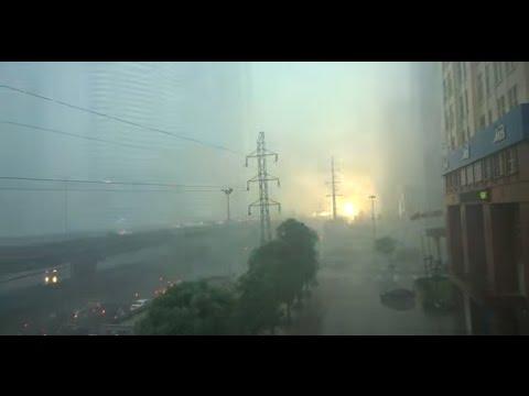 Mưa bão Hà Nội - Keangnam với cháy nổ HanDico