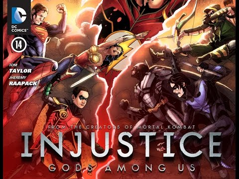 Injustice Gods Among Us Chapter 15 (2013):Criminals to justice