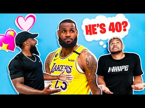Guess That NBA Players AGE w/ 2HYPE !!