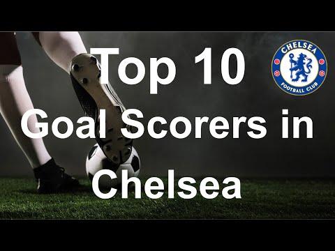 Top 10 Goal Scorers in Chelsea (1905-2020)