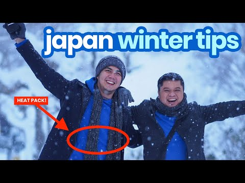 TOP 10 JAPAN WINTER TRAVEL TIPS --- What to Wear, Where to Buy, How to Deal with the Cold