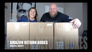 I bought a $1,553 Amazon Customer Returns HEALTH & BEAUTY Pallet / Mystery Boxes