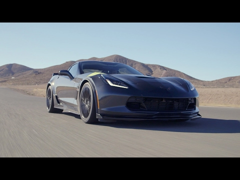 2017 chevrolet corvette grand sport - hot lap