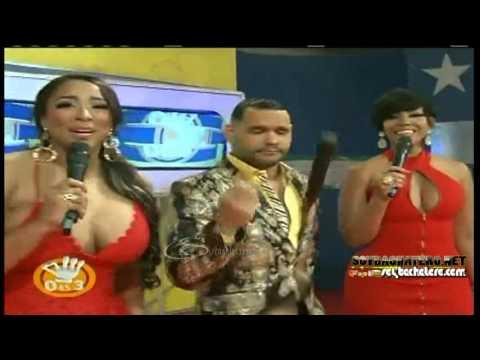 Candy y Ana Carolina Sexy en 0 es 3 @Soybachatero