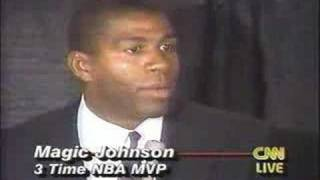 Magic Johnson still celebrating life 25 years aft HIV announcement