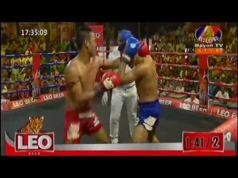 vong noy vs wanchaileck,khmer boxing, cambodai boxing,