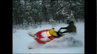 10. Polaris 600 Edge, powder