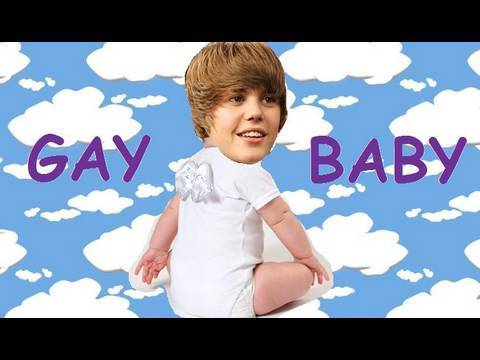 Justin Bieber Is Gay - Sup gee So a lot of people hate justin bieber because they think he's 'gay' or a 'fheg' and he looks and sounds like a 'girl' or 'baby' therefore justin bieb...