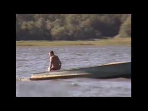 Broken speed boat