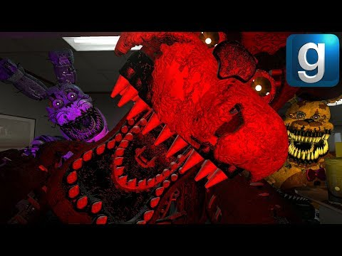 Gmod FNAF   Brand New Nightmare Animatronics!