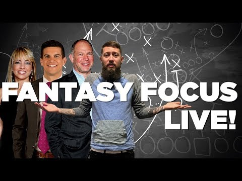Video: Fantasy Focus Live: Running backs, Training Camp, and Vikings Preview