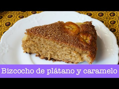 Bizcocho de plátano y caramelo- receta de Lorraine Pascale