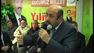 ilahiyatçı  yazar ömer döngeloğlu akparti turhal skm ziyaret
