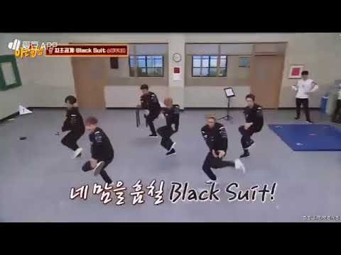 SUPER JUNIOR - BLACK SUIT short vers (Live Performance at the end of knowing brother )
