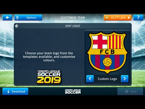 How To Import Fc Barcelona Logo And Kits In Dream League Soccer 2019