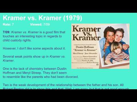 Movie Review: Kramer vs. Kramer (1979) [HD]