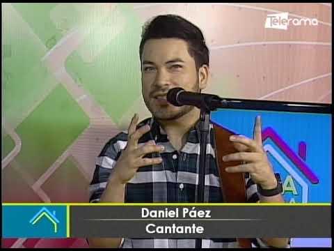 Daniel Paéz Cantante