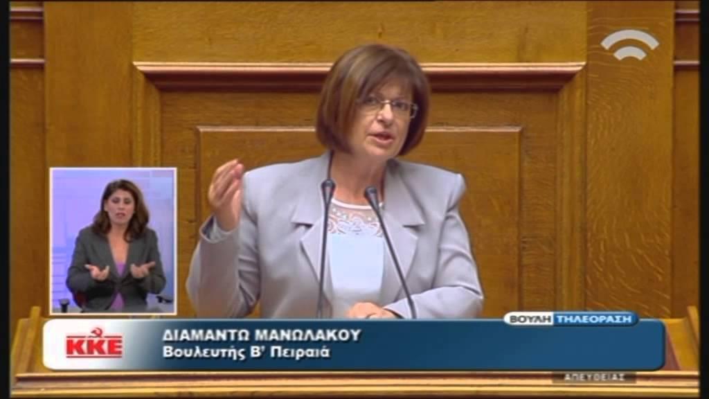 Πολυνομοσχέδιο: Δ. Μανωλάκου (Ειδ. Αγ. Χρυσή Αυγή) (04/11/2015)