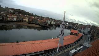 Whitby Mon 18th May 2015 24-Hour Time-lapse (Upriver)