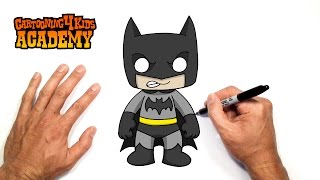 Video How to Draw Batman- Art for Beginners MP3, 3GP, MP4, WEBM, AVI, FLV Desember 2018