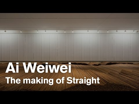 The making of Ai Weiwei's Straight