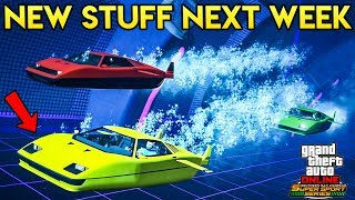 GTA Online - What's Coming Next Week + Smuggler's Week Info (2x GTA$)