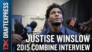 Justise Winslow 2015 NBA Draft Combine Interview
