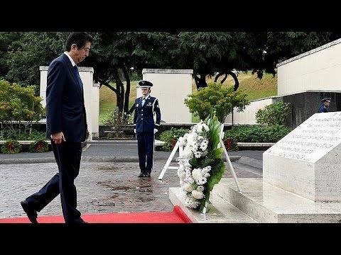 Ιστορική επίσκεψη του Ιάπωνα πρωθυπουργού, Σίνζο Άμπε, στο Περλ Χάρμπορ