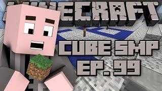 Minecraft: Cube SMP with StrauberryJam - Episode 99 - Team Blue Floor